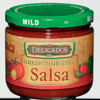 Пикантный соус Salsa delicados, Гастрономы сети «ГЛОБУС ГУРМЭ».