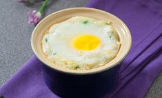 Яйцо в картофельном гнезде