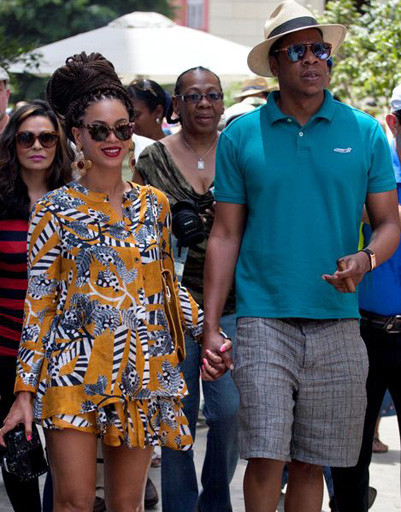 Бейонсе (Beyonce) и Джей-Зи (Jay-Z) в Гаване
