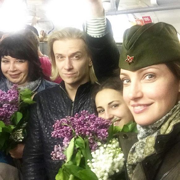 9 мая в Волгограде, День Победы, поздравляют звезды