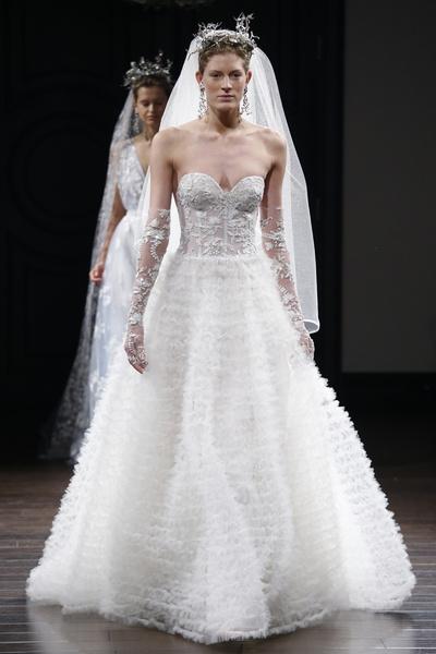 Пышные свадебные платья 2015 3
