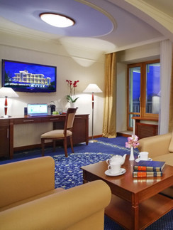 Интерьеры номеров M'Istra'L Hotel & SPA