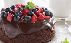 Украшение торта фруктами: вкусно и красиво