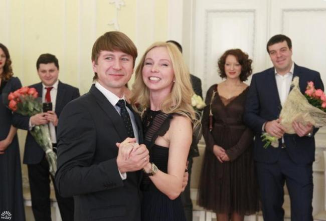 Татьяна Тотьмянина и Алексей Ягудин на свадьбе в Красноярске фото
