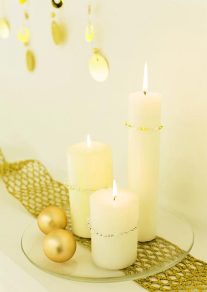 Золотые элементы декора