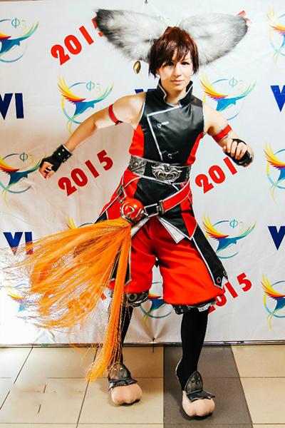 Представитель расы Лин из игры Blade&Soul , фестиваль фэнтези и фантастики