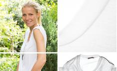 Гвинет Пэлтроу создала идеальную белую футболку