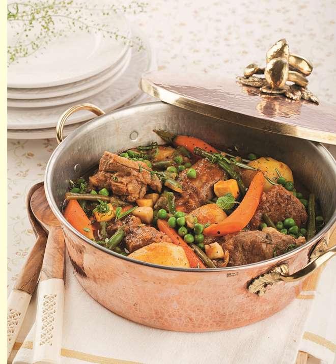 Баранина с овощами рецепт