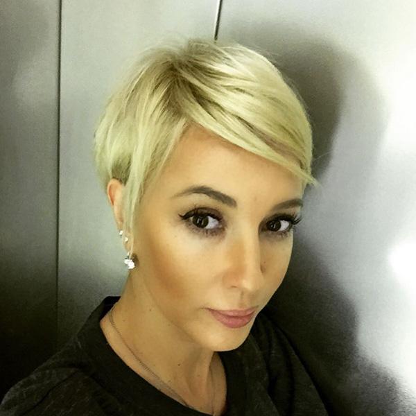 лера кудрявцева отрезала волосы
