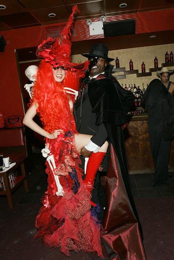 Хайди Клум и Сил. 2007 год