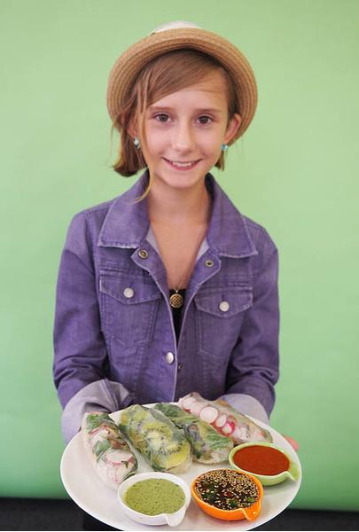 Зоя Дмитриева, участница кастинга «МастерШеф. Дети», фото