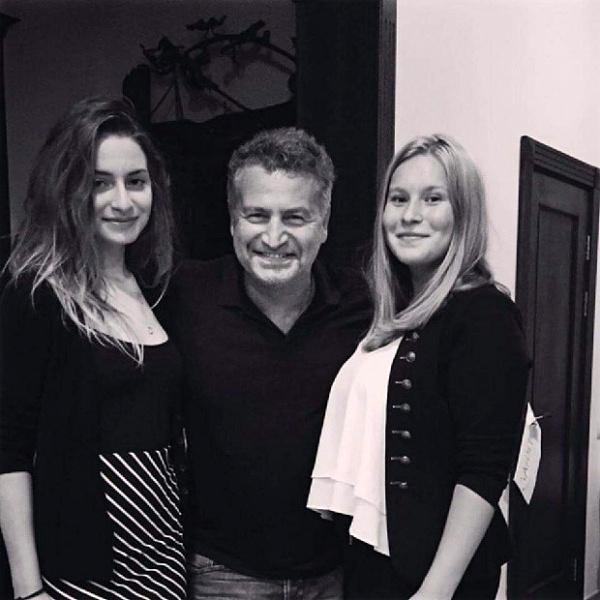 Леонид Агутин с дочерьми