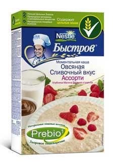 В каше БЫСТРОВ уникальные свойства злаков дополнены ценными свойствами пищевых волокон-пребиотиков.