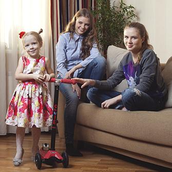 Маша, 4 года, Дарья, 17 лет, Арина, 17 лет