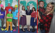 18 образов в стиле family look: выбери самый яркий!