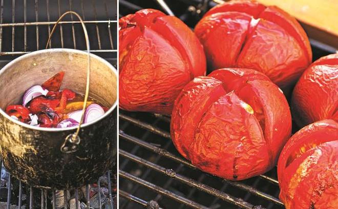 Кетчуп на углях