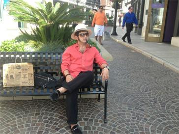 Михаил Галустян в Лос-Анджелесе.