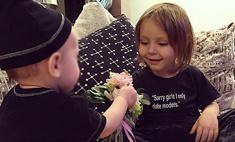 У 8-месячной дочери Тимати появился поклонник