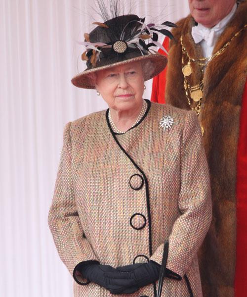 Елизавета II, 2008 год