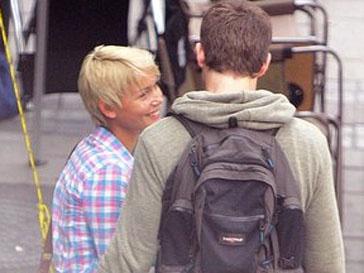 Райан Рейндольс (Ryan Reynolds) со своей возлюбленной