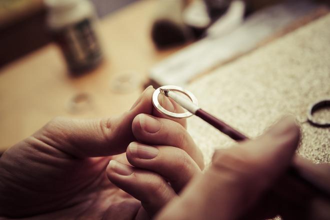 Увеличить размер кольца обручального кольца