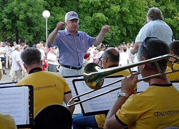 Валерий Мурзов, джаз-оркестр Тольяттинской филармонии