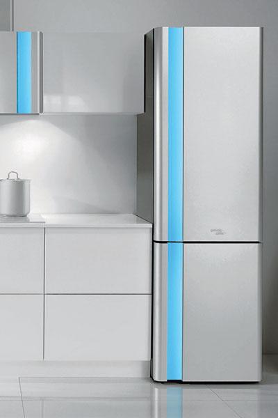 Коллекция кухонных приборов Gorenje Karim Rashid (Gorenje). Цвет светодиодной подсветки можно менять одним прикосновением руки.