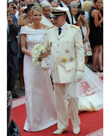 Князь Альбер II и Шарлин Уиттсток (Charlene Wittstock)