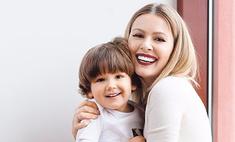 Трехлетний сын Кожевниковой стал звездой модного бренда