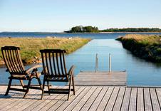 В Padaste можно часами любоваться видом на залив