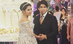 Таджичка вышла замуж в платье за 40 млн рублей