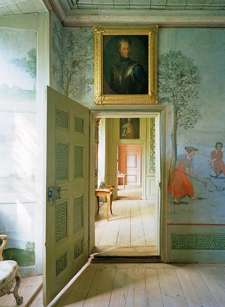 Интерьер особняка Стола в Лидкёпинге, 1713–1719 годы, архитектор Клас Экеблад.