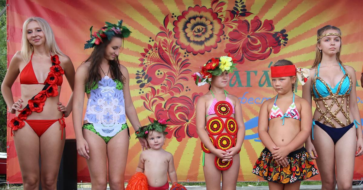 Детский купальник для конкурса красоты