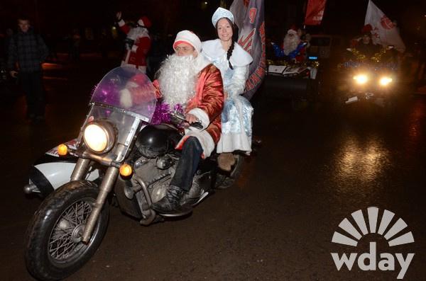 Волгоград, 3 января, Парад Дедов Морозов