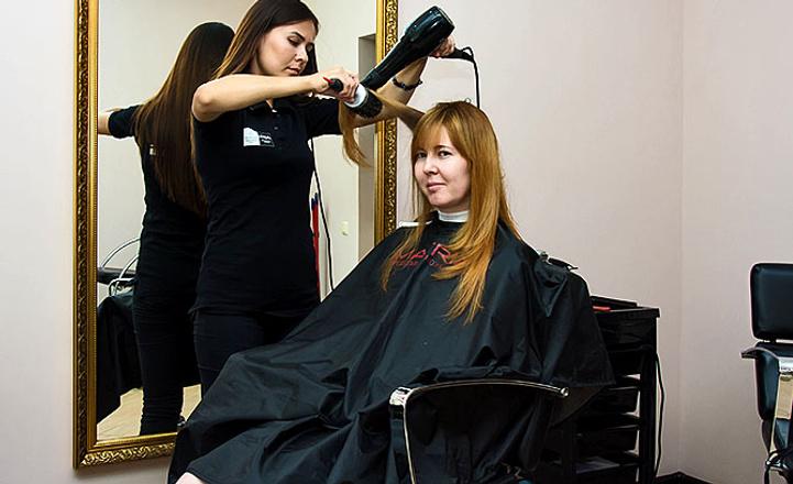 стрижка и окраска волос