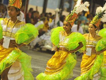 В Рио-де-Жанейро отмечают карнавал