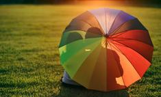Как почистить грязный зонт в домашних условиях?