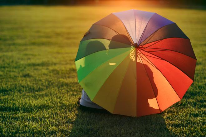 Как почистить зонт в домашних условиях