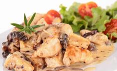 Курица и грибы – трудно отказаться!