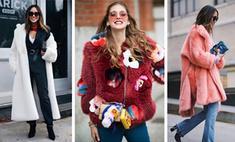 Как носить шубу, чтобы выглядеть стильно: 20 идей