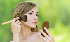 Прозрачная пудра как основа макияжа