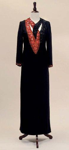 Вечерний кафтан, Yves Saint Laurent Couture