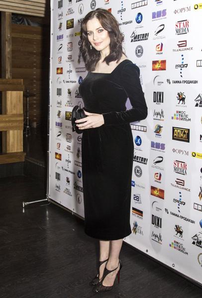 Юлия Снигирь на премии Ассоциации продюсеров кино и телевидения