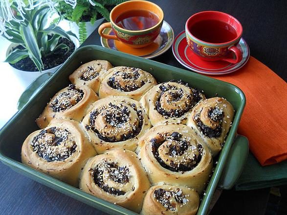 Пирог с грибами, фото