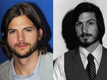 Нельзя не признать внешнее сходство Эштона Катчера (Ashton Kutcher) и Стива Джобса.