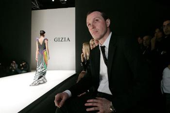 Игорь Верник на Неделе моды в Стамбуле