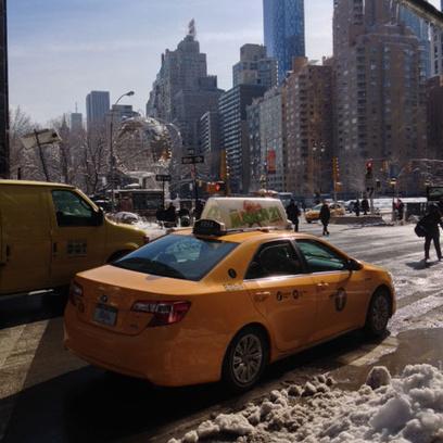 Заснеженный Манхэттен