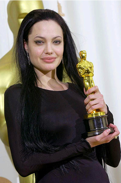 Анджелина Джоли, премия Оскар, фото