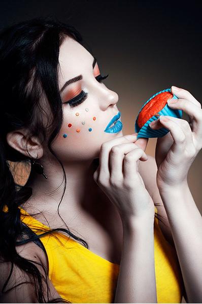 фантазийный макияж: фото