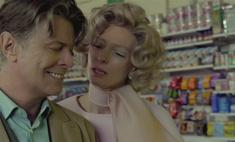 Мелодия страха: Дэвид Боуи и Тильда Суинтон в новом клипе